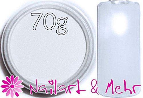 Nail Art & plus professional-Powder/acrylique en poudre acrylique, ° ° ° 70g ° ° ° ° Extra White °