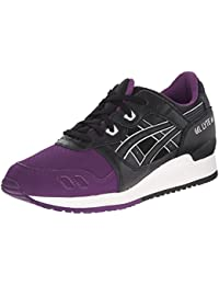 Asics Gel-Lyte III Piel Zapato para Correr, Purple / black, 39.5