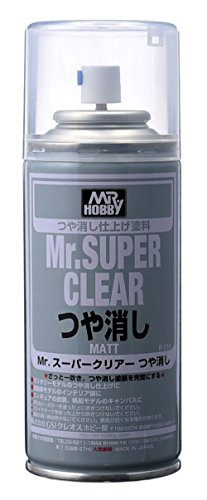 Preisvergleich Produktbild Gundam Paint Mr. Hobby Mr. Super Clear Flat 170ml B-514