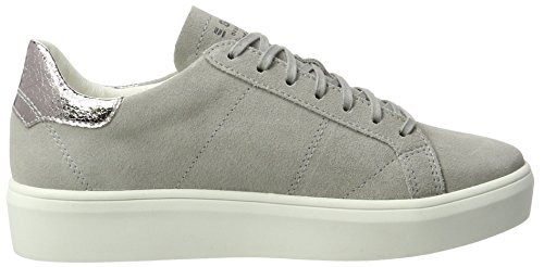 Esprit Elda Lu, Sneakers Basses Femme Gris (Light Grey 3)