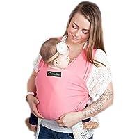 64e35d7a6b0d Porte bébé CuddleBug - Écharpe de portage grise pour bébé - Livraison  gratuite - Taille Unique
