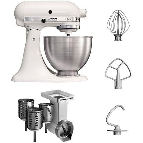 KitchenAid 5K45SSEWH + MVSA - Producto de hogar