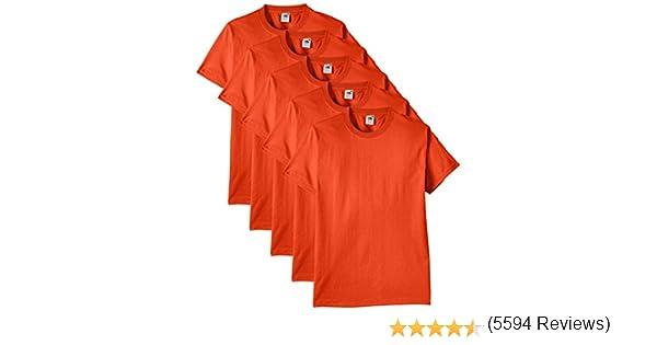 STOCK 100 PEZZI T-shirt FRUIT OF THE LOOM maglietta BAMBINO maglia abbigliamento