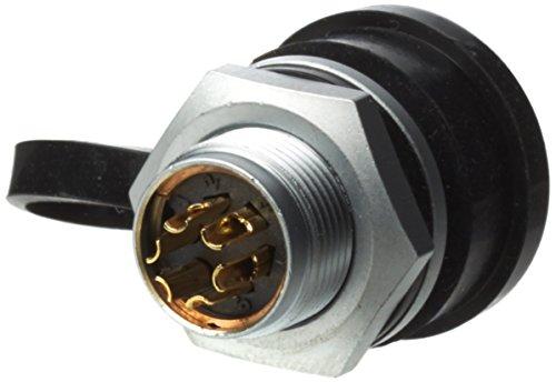 Dinamometrica Weipu connettore IP67, blocco Push Pull, dispositivo spina 6poli-connettore per cavi con sezione Massimo 0,785mm², AWG18, nennwerte 5A/125V, SF1212/P6