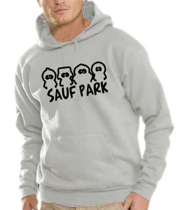 Touchlines Herren Kapuzen Sweatshirt Sauf Park, heather grey, XL, B7127 Preisvergleich