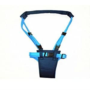 Baby moon walker harness ideal for learning to walk Blue.