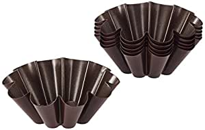 Staedter Brioche Set, Brown, 10 x 4 cm, 6-Piece