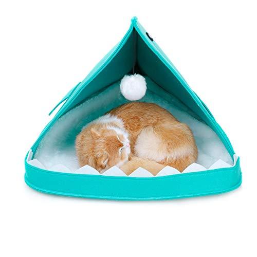 Yshen Haustier-Zelt für Hunde Portable Pet Zelte & Häuser für Hund Welpen Katze Haustiere lieben Dieses Haustier Bett Haus Home Decor Hundebetten für kleine Hunde -