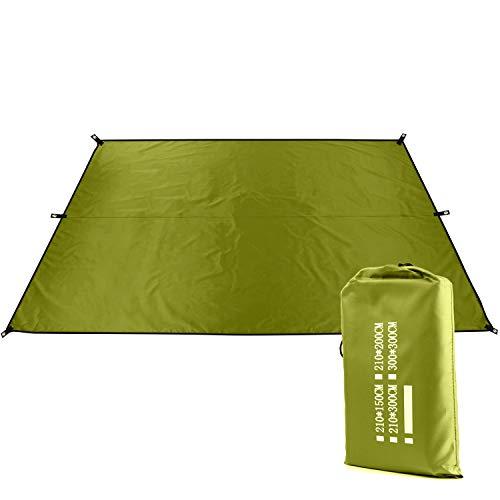 Diswoe Outdoor Picknickdecke, Picknick-Matte Campingdecke Stranddecke Matte Decke Wasserdicht für Strände, Picknicks, Parks, Camping und Outdoor-Aktivitäten Picknick Matte (210x300cm, Armeegrün)