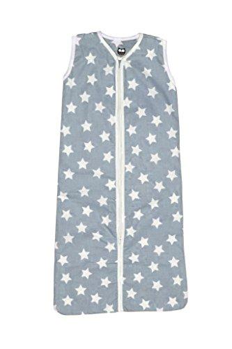 Briljant baby Winter Schlafsack mit Reißverschluss 110 cm BJORN - Grau