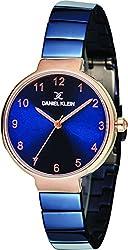 Daniel Klein Analog Blue Dial Womens Watch-DK11411-5