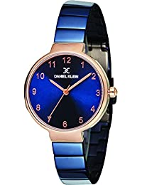 Daniel Klein Analog Blue Dial Women's Watch - DK11411-5