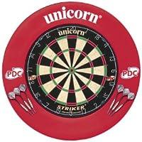 Unicorn Striker Bristle Cible de fléchettes avec contour