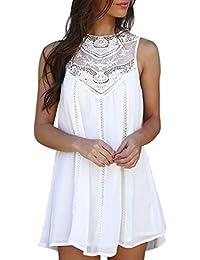 Vestidos cortos mujer ☀ Amlaiworld Vestidos de verano 2018 de mujer Sexy Mini vestido de