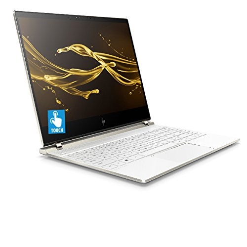 HP Spectre 13-af002na 13.3-Inch 4K Touchscreen Laptop - (Ceramic white) (Intel Core i7-8550U, 8 GB RAM, 512 GB SSD, Intel UHD Graphics 620, Windows 10 Home