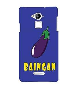 99sublimation hyderabadi baigan telangana bringal regular word daily used Designer Back Case Cover for Coolpad Note 3