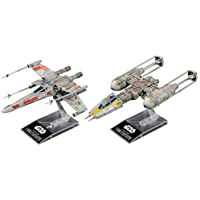 Bandai Star Wars X Wing Star Fighter & Y Wing Starfighter 1/144 Scale Plastic Model