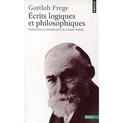 Ecrits logiques et philosophiques - Traduction et introduction de Claude Imbert