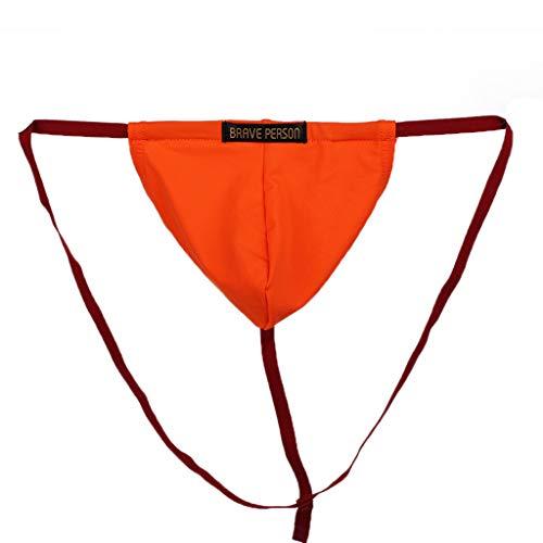 2a658479a251 Beladla Abbigliamento Perizoma Trasparente in Mutandine di Seta Sexy da  Uomo Men's Male Little Hollow Breathable
