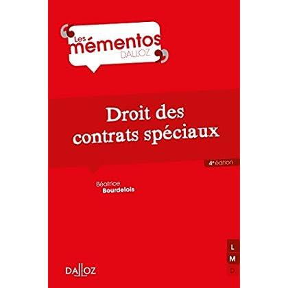 Droit des contrats spéciaux - 4e éd.
