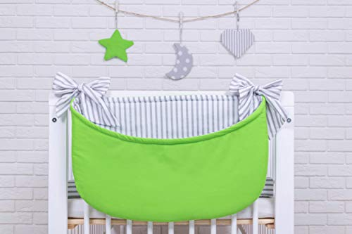 Amilian® Betttasche Spielzeugtasche Design6 Babybetttasche Windelntasche Spielzeughalter für Kinderbett NEU