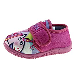 714765f0bb292 Peppa Pig Girls Novelty Slippers – Unicorn