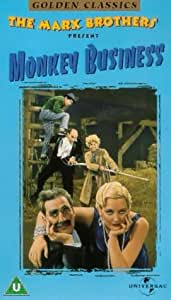 The Marx Brothers: Monkey Business [VHS]