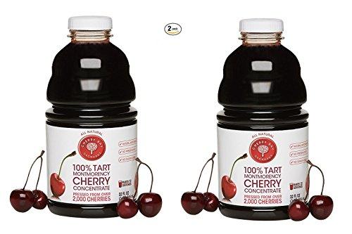 Cherry Bay Orchards 2 Paket konzentrierten Saft sauer 32 Oz ~ 64 Unzen