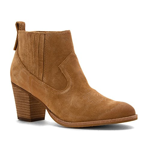 Dolce Vita Jones Daim Bottine Camel