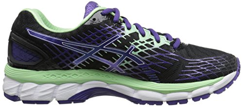 Asics Gel-Nimbus 17 Damen Synthetik Laufschuh Onyx/Purple/Mint