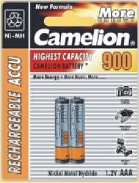 Camelion 17009203 2 accus R03 / AAA / 900mAh sous blister