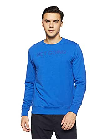 Pepe Jeans Men's Sweatshirt (PM581548_Blue_XL)