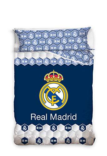 Real Madrid Juego Cama 2 Pieza. Funda Nórdica + Funda