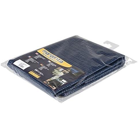 No Label alfombra de mesa oval Negro negro Talla:140 x 180 cm