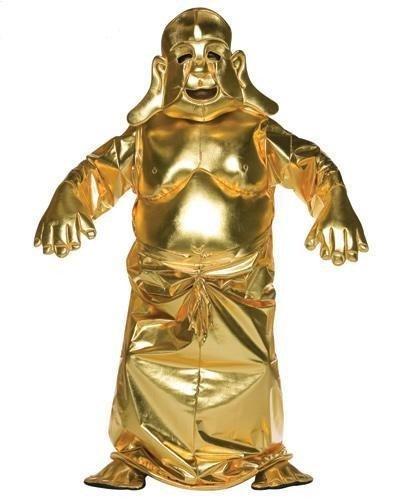 Krishna Hare Kostüm - Golden Buddha Deluxe Adult Costume Standard
