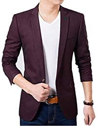 b13084ed09e Amazon.in  Purples - Suits   Blazers   Men  Clothing   Accessories