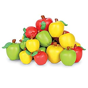 Learning Resources- Manzanas con atributos, Color (LER1023)