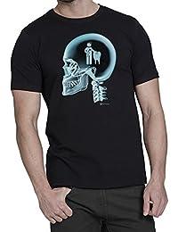 Dentist En El Cerebro X-Ray Camiseta para hombre dentista T-Shit