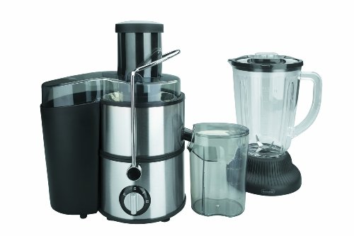 Lacor 400 W Electric Fruit Processor And Blender, Black/Silver, 1.5 Litre