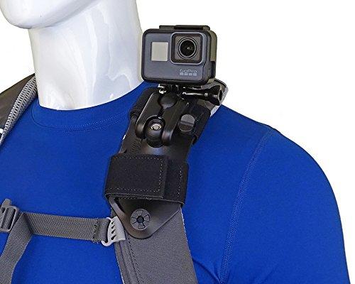 STUNTMAN Pack Mount - Schultergurthalter für Aktionskameras - Action-cam Contour