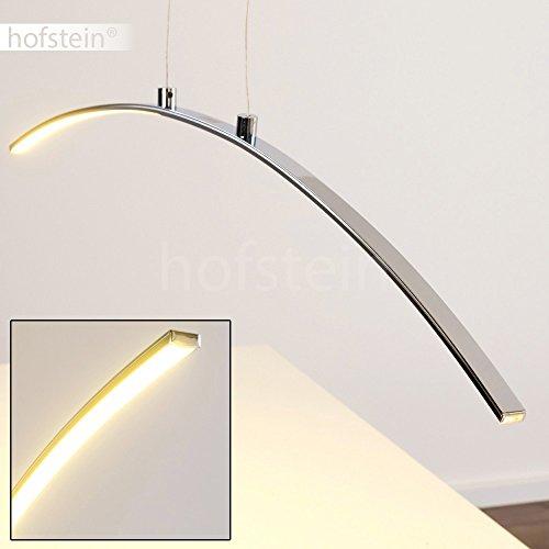 LED-Pendelleuchte-Vidsel-aus-Metall-Chrom--Lngliche-Zimmerlampe-fr-Esszimmer--Wohnzimmer--Schlafzimmer