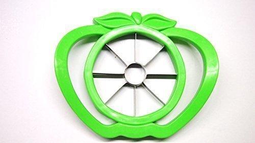 Patisserie Apfelteiler, Edelstahl mit Kunststoffrahmen Birnenteiler Gourmet (grün)