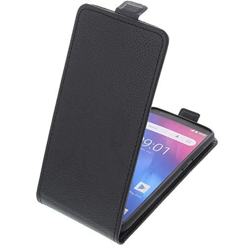 Tasche für Ulefone S1 Smartphone Flipstyle Schutz Hülle schwarz - S1 Handy