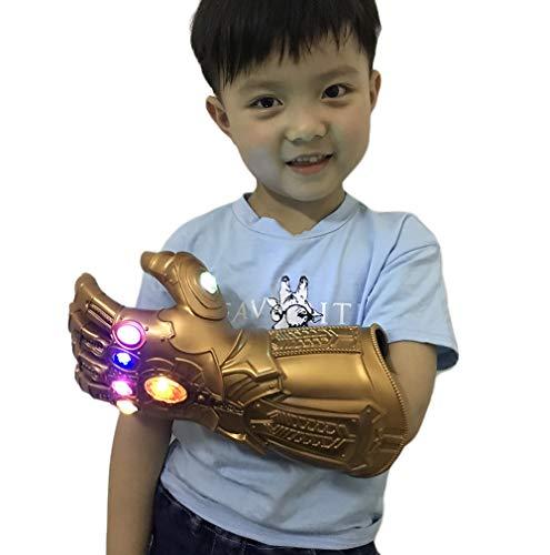 Yacn Guante guantelete Infinito Thanos Adulto Guante