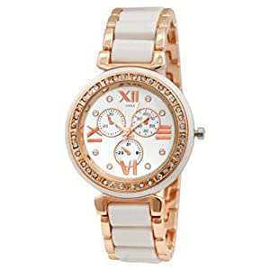 Codice White Dial Rose Gold Girls Watches & Watches for Women