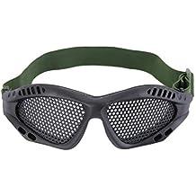 Gugutogo Gafas de táctica al Aire Libre de los Ojos Gafas de protección de Malla metálica