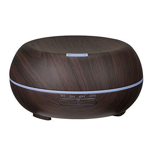 USB eléctrico Aroma Aire difusor Madera ultrasónico humidificador de Aceite Esencial aromaterapia Fabricante de Niebla Fresca para el hogar