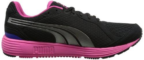 Puma Descendant V1.5 Wn'S, Chaussures de sports extérieurs femme Noir - Schwarz (black-aged silver 01)