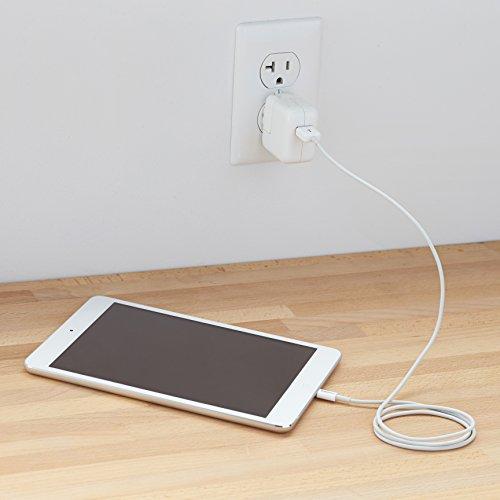 AmazonBasics Ladekabel Lightning auf USB, 0,9m, zertifiziert von Apple, Weiß - 6