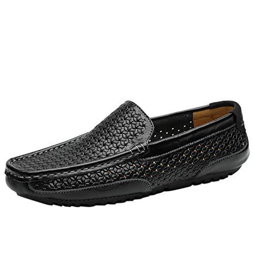 Solide ausgehöhlte Lederschuhe der Männer, Breathable Geschäfts-Schuh-Berufsschuhe der Art- und Weisefreizeitschuhe